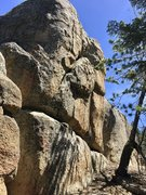 Rock Climbing Photo: South side of Coyote Boulder