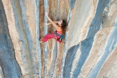 Rock Climbing Photo: Duyugu Haug on Carlo James Wedding Present. (Photo...