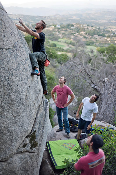 Rock Climbing Photo: Is that a hold?