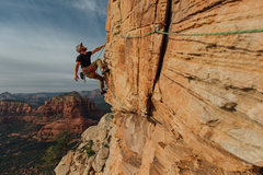 Rock Climbing Photo: The obligatory photo opp.