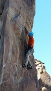 Rock Climbing Photo: Josh on the powerful, techy moves that open the cr...