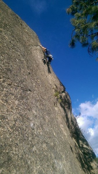 Rock Climbing Photo: Right route- 11a?