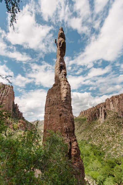 Rock Climbing Photo: The Totem Pole, AZ