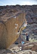Rock Climbing Photo: Carrot Top