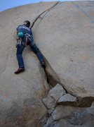 Rock Climbing Photo: I was terrified on the lead, and now Brad is clean...