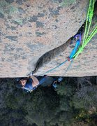 "Rock Climbing Photo: The ""Out of Sight"" part of the climb. It..."