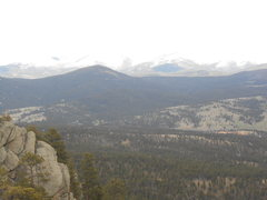 Rock Climbing Photo: looking east towards the elkhorns