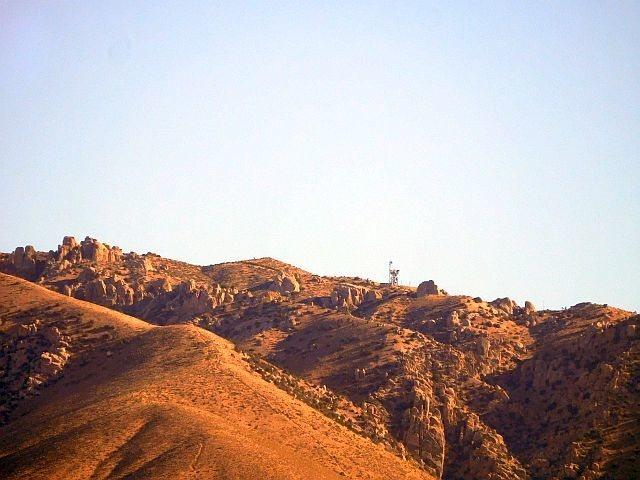 Crags in the Grapevine Area, San Bernardino Mountains