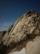 Rock Climbing Photo: Middle Bell with 3 Parties on Arm and Hammer