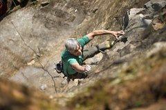 Rock Climbing Photo: Kelly on SCB.