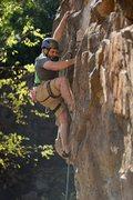 Rock Climbing Photo: Benjy on Mordecai