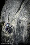 Rock Climbing Photo: Crux, different angle