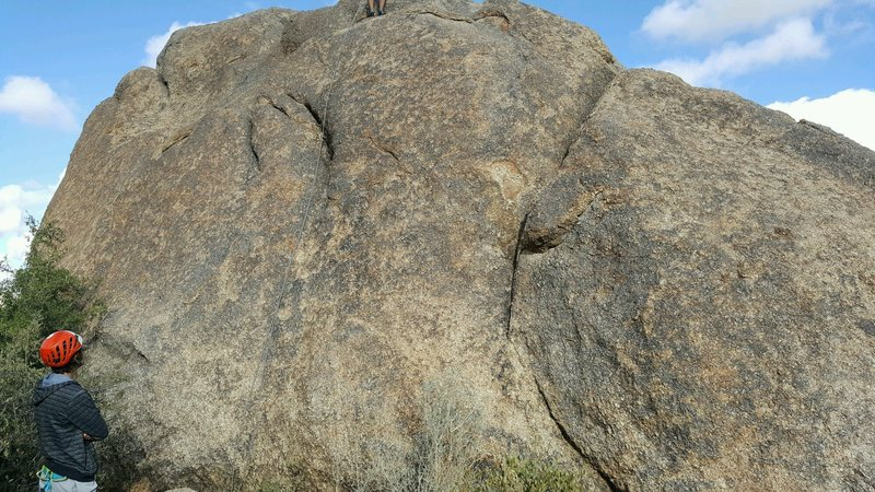 Rock Climbing Photo: Two bolted routes are on the South side of Morrell...