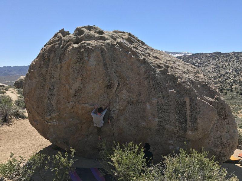 Climbing Problem D on April 30th, 2017.