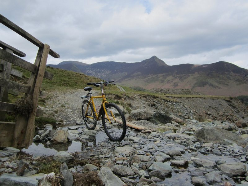 Rock Climbing Photo: nomans bike