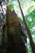 Rock Climbing Photo: flight of gumby
