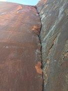 Rock Climbing Photo: Beautiful pitch 5. Amazing jams.