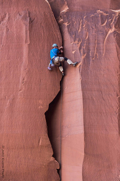 Rock Climbing Photo: Hypothetical Route