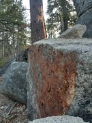 Rock Climbing Photo: Recent rock fall from a rough winter. Most of the ...