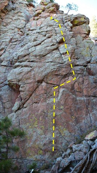 Rock Climbing Photo: Two Toprope.