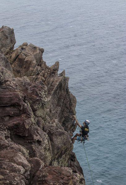 Rock Climbing Photo: Hangdog