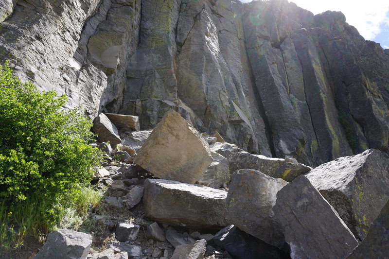 Rock Climbing Photo: Remnants of Price of Complacency pillar