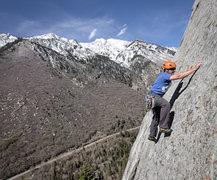 Rock Climbing Photo: flashdance