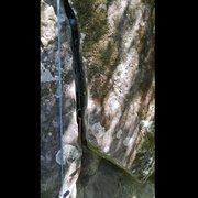 Rock Climbing Photo: 3.5 monkeys fist took a fall
