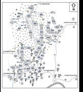 Rock Climbing Photo: Map of Lower Meadow area made by Khon Kaen Climbin...