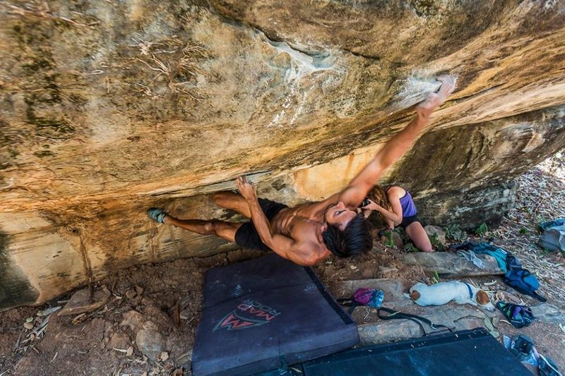 Lazy Daisy V4, Gate Keeper Boulder