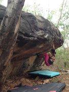 Rock Climbing Photo: Gate Keeper Boulder