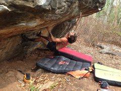 Rock Climbing Photo: Lazy Daisy V4