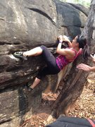 Rock Climbing Photo: V3 Gate Keeper Boulder