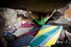 Rock Climbing Photo: Jason repeating Tipping Point to lockdown the seco...