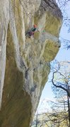 Rock Climbing Photo: direct line