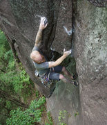 Rock Climbing Photo: Stretch 5.10d