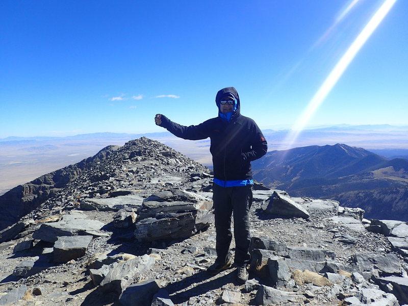Rock Climbing Photo: Wheeler Peak, NV