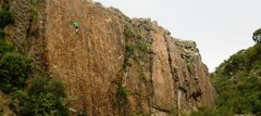Sport climbing area near Sucre with about 20 routes. Mostly 5.10 to 5.11