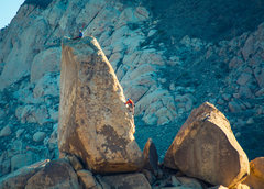Rock Climbing Photo: morning on SW Corner