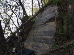 Rock Climbing Photo: The Striped Face