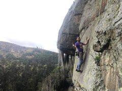 Rock Climbing Photo: Climbing with Luis