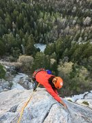Atim feeling the air below coming up the bolted slab moves on top of P3.