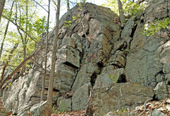 Rock Climbing Photo: Fairy Tales - right end from SE: