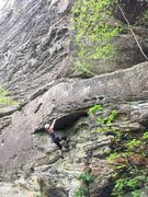 Rock Climbing Photo: dope on a rope 11b @ rrg