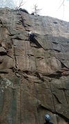 Rock Climbing Photo: Fun little spot on this climb