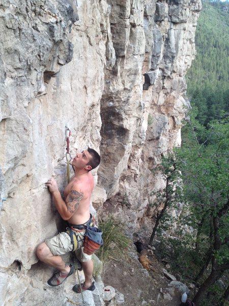 Rock Climbing Photo: Don't slip!