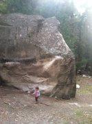 Rock Climbing Photo: Left of linen line