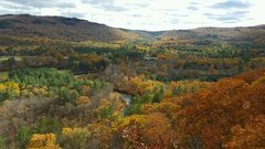 Rock Climbing Photo: Can't beat this view! Rumney in the Fall, is b...