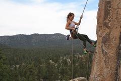 Rock Climbing Photo: Repel