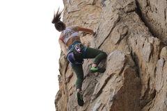 Rock Climbing Photo: Leading bye crackie